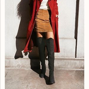 FREE PEOPLE BOLO WESTERN OVER THE KNEE BOOT